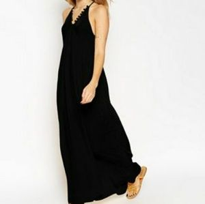 🎈LAST CHANCE❗(ASOS) Pom Pom Cami Maxi Dress
